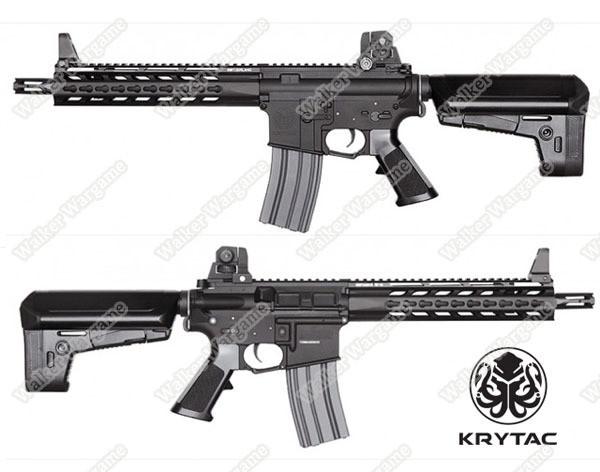 KRYTAC Trident MK2 MKII CRB Carbine Full Metal Keymod Airsoft AEG Rifle - Black
