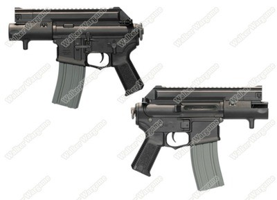 ARES Amoeba CCP M4 Machine Pistol Airsoft AEG AM-003BK - Black