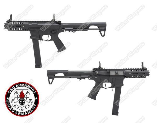G&G ARP9 CQB AEG Airsoft Rifle Build In ETU Electronic Trigger Unit - Black