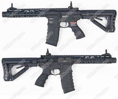 G&G GC16 Wild Hog 9incl Assault Rifle AEG-ETO Electronic Trigger Unit - Black