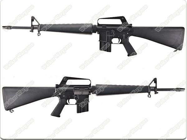 JG Newest Version M16A1 -VN Vietnam Full Metal Airsoft AEG Rifle
