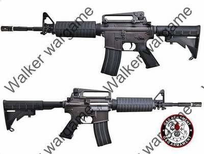 G&G TR16 Top Tech M4A1 Carbine Full Metal Airsoft Electric Gun BB Gun (AEG)