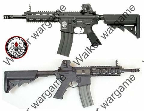 G&G M4 CQB RIS GR16 CQW Rush Electric Blow Back AEG - Black