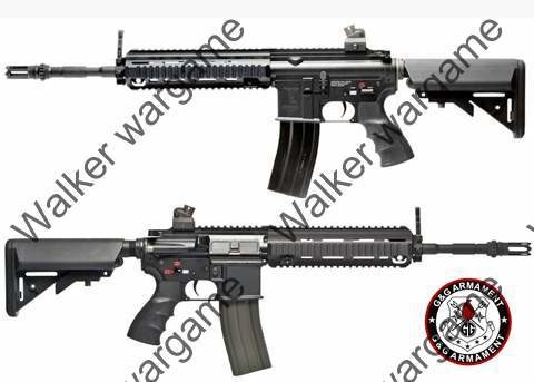G&G HK418 Top Tech Airsoft Full Metal Rifle Electric Blowback