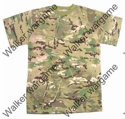 Camo Shirts -- US Special Forces Multi Camo
