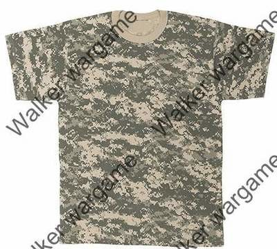 Camo Shirts -- US Army ACU Digital Camo