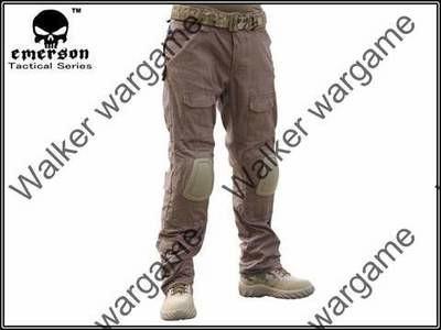 Combat Pants Build In Knee Pads - Coyote Brown