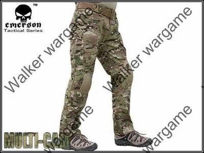 Combat Pants Build In Knee Pads - Multi camo