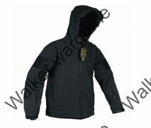 US Special Forces Soft Shell Combat Jacket SWAT Black