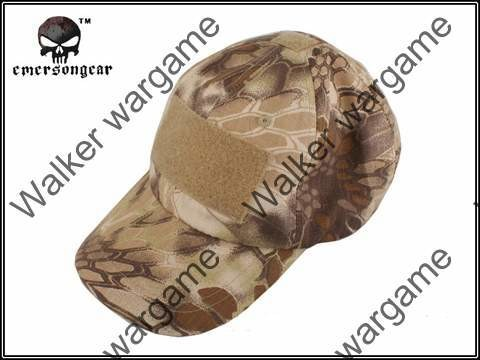 Operator Cap Velcro Flag Blood Patch - 21th Century New Special Force HLD Camo (Highlander Camo)