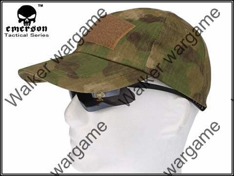 Operator Cap Velcro Flag Blood Patch - A-Tacs FG