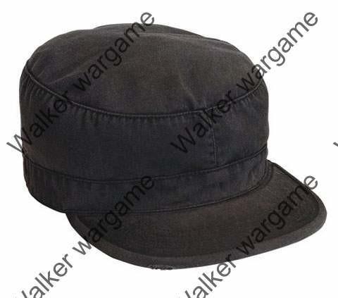 Combat Cap Hat - Police SWAT Black
