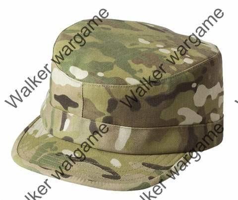 Combat Cap Hat - Special Forces Multi Camo