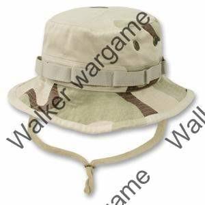 US Army Three Tan Desert Camo Boonie Hat