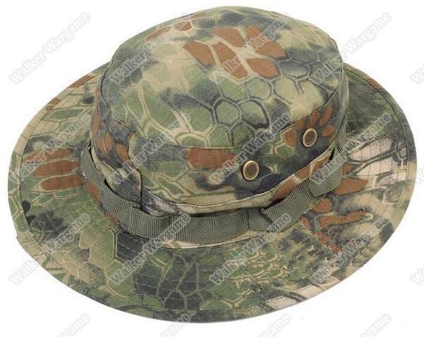 Boonie Hat Cap - 21th Century New Special Force MR Camo (Mandrake Camo)