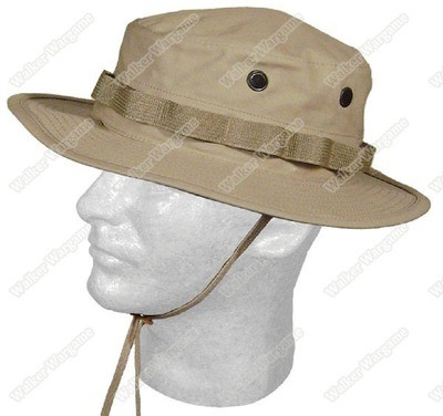 Boonie Hat Cap - Private Military Contractor PMC Tan