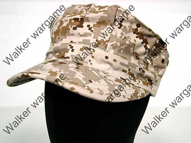 US Marine Digital Desert Marpat Camo - GARRISON Style Patrol Cap