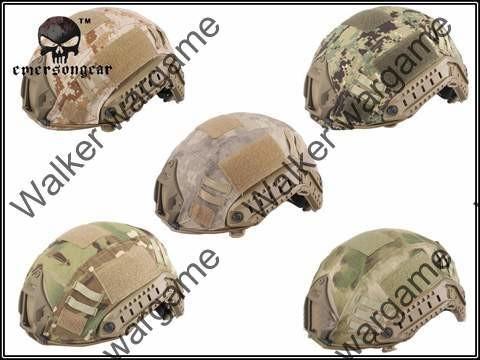 Fast Jump Helmet Camo Cover - Multi Color