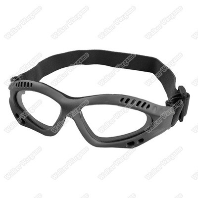 Tactical 039 Safety Glasses - Clear & Smoke Lens
