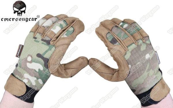 Emerson Camo Tactical Lightweight Gloves - MC Multicam Camo
