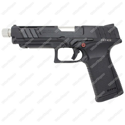 G&G GTP9 GBB Green Gas Blow Back Airsoft Pistol - Black