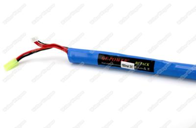 GE Power Lipo battery 12V 1100MAH 15C RC Airsoft Gun Battery Long Type