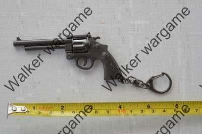 Miniature Gun Keychain Ring- Revolver