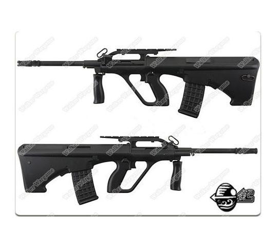 JG Steyr AUG Police Version Bullpup Assualt Rifle Airsoft AEG Black