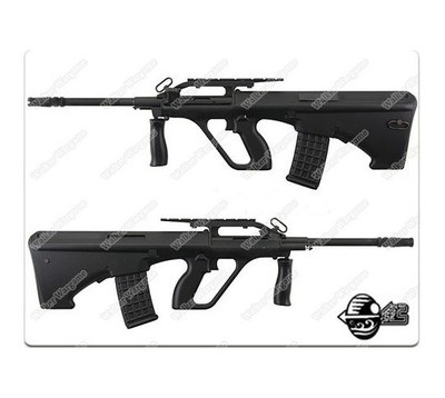 JG Steyr AUG Police Version Bullpup Assualt Rifle Airsoft AEG Black