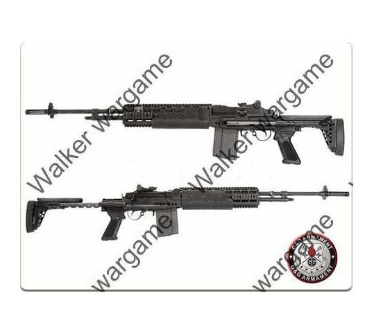 G&G M14 EBR Full Metal Sniper Rifle Full RIS Rail AEG _ Long Type