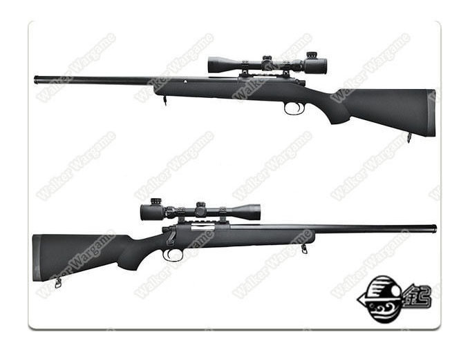 Jing Gong VSR-10 With Scope ( BAR10 ) M24 Airsoft Bolt Action Sniper Rifle