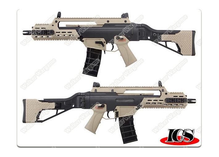 ICS G33 G36c 2-Tone color Compact Assualt Rifle AEG AirSoft Gun ICS-235