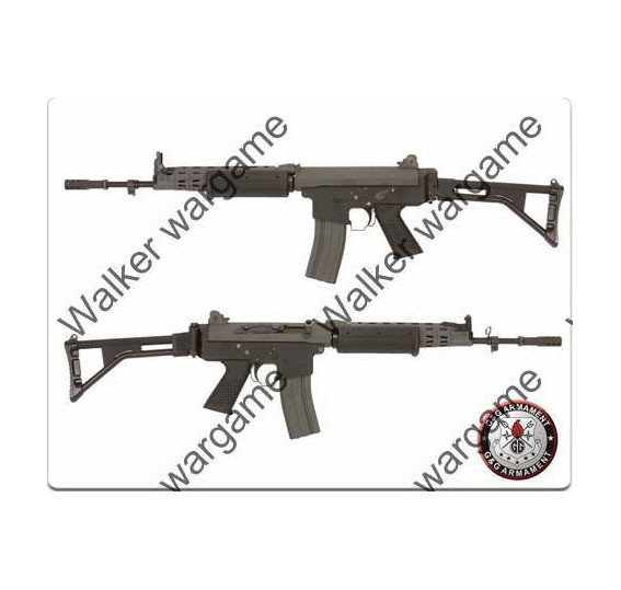 G&G GF85 Belgian Arms 76 L (FNC Pro Long Type) Full Metal - Airsoft Electric Gun