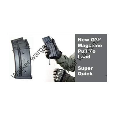 470 Rds High Speed Flash Magazine For G36 - Black