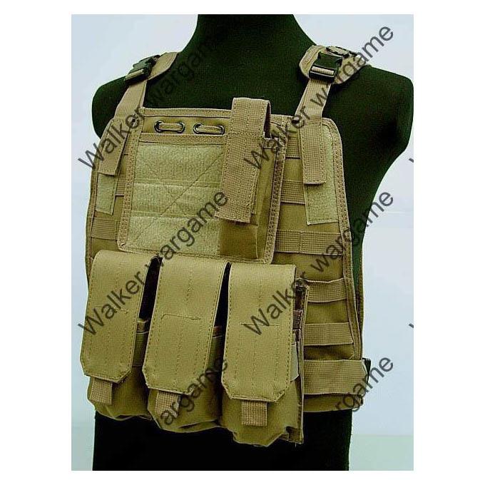 C2 Strike Molle Tactical Vest - Desert Tan