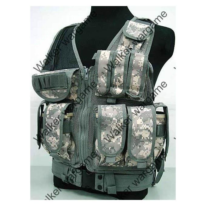 TAC Tactical vest With Belt - US Army ACU