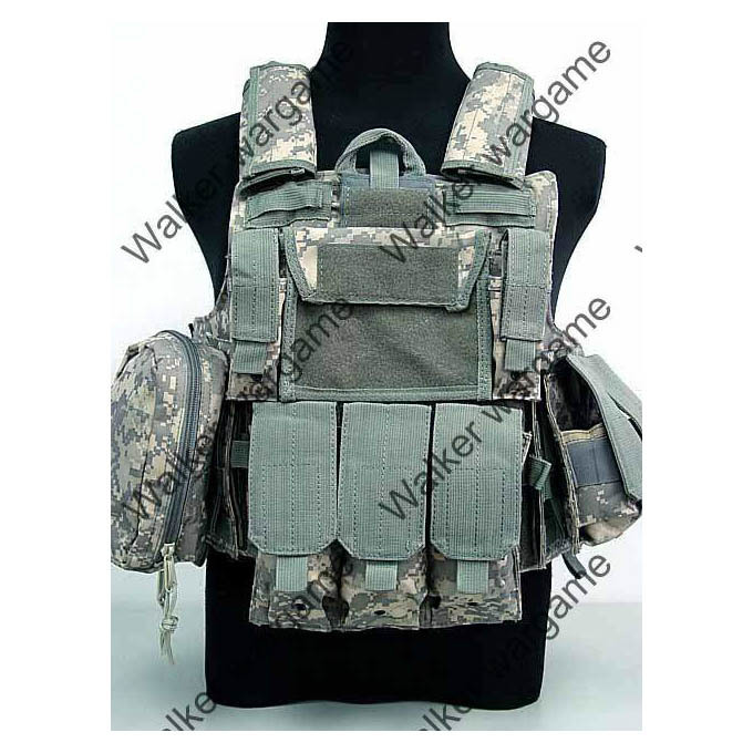 US Force Recon Marine MOD MOLLE Vest - ACU