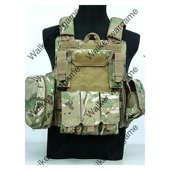 US Force Recon Marine MOD MOLLE Vest - Multi Camo