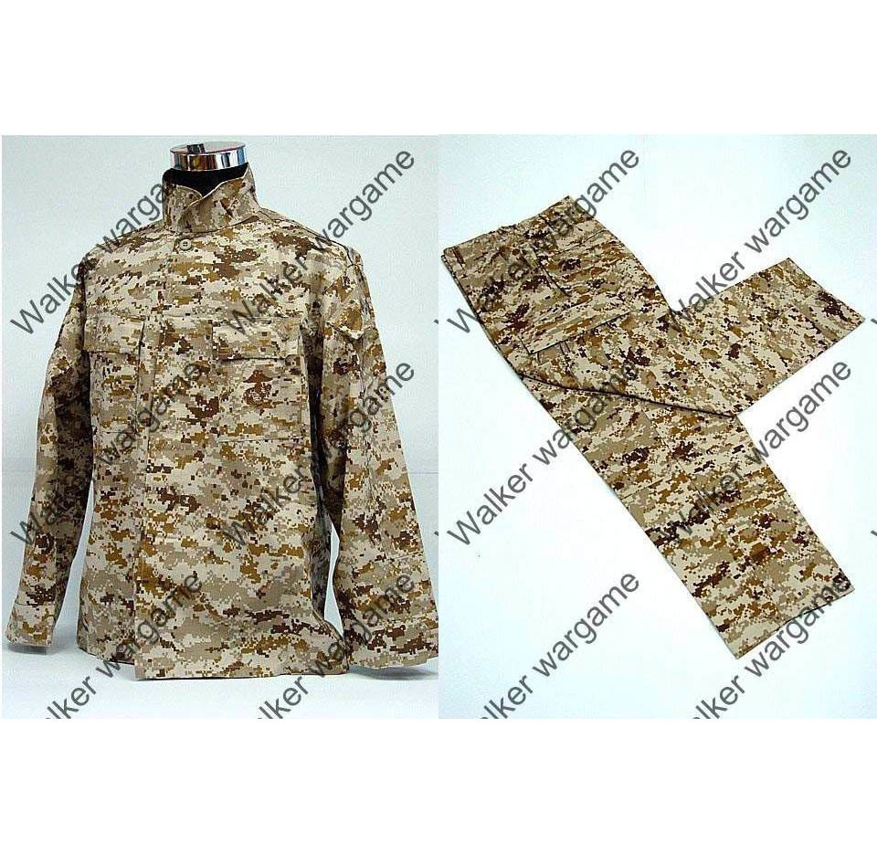 BDU Battle Dress Uniform Full Set -  US Marine Digital Desert