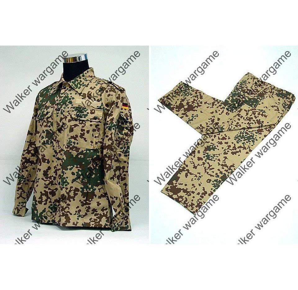 BDU Battle Dress Uniform Full Set - German Desert Flecktarn Camo