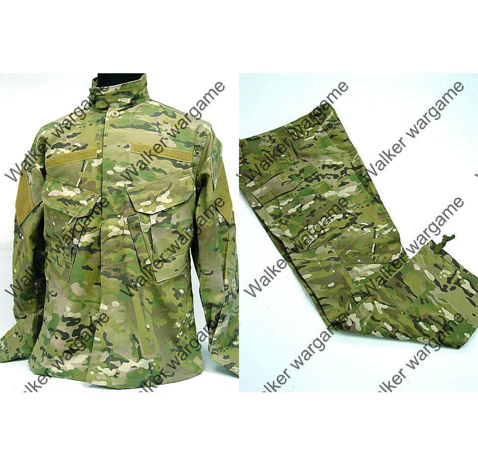 BDU Battle Dress Uniform Full Set - Special Force Multi Camo