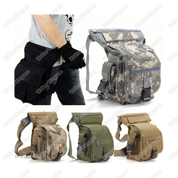 Tactical Drop Leg Utility Bag - Multi Color