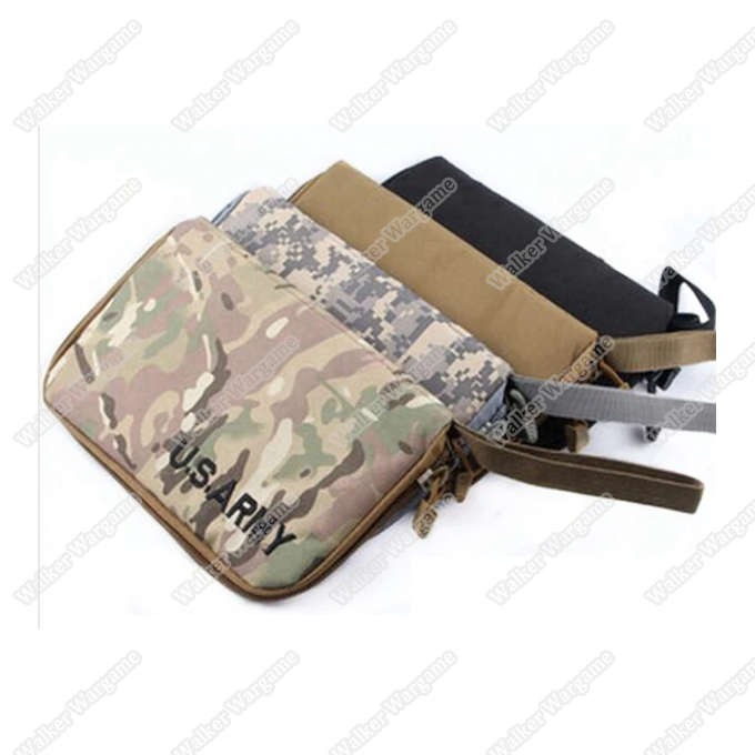 Pistol Carry Case Gun Bag Pouch - OD , Black , Tan