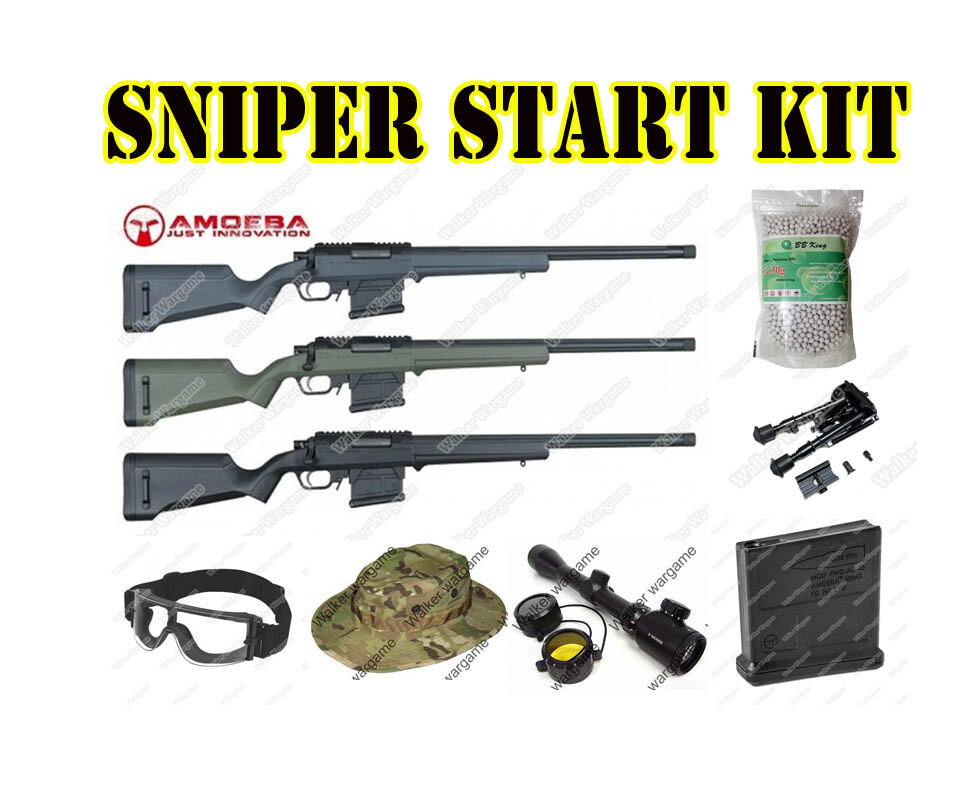 Airsoft Sniper Starter Package - Now R5700.00 Save R1050.00