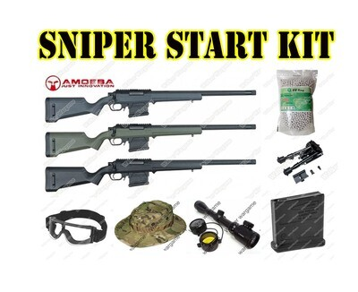 Airsoft Sniper Starter Package - Now R570.00 Save R1050.00