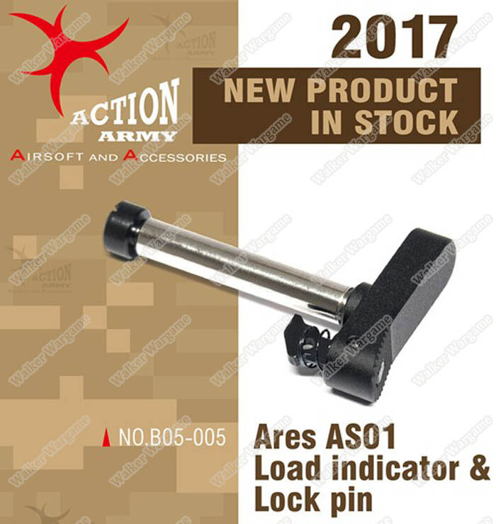 Action Army ARES Striker AS01 AS02 Rifle Load Indicator and Lock Pin