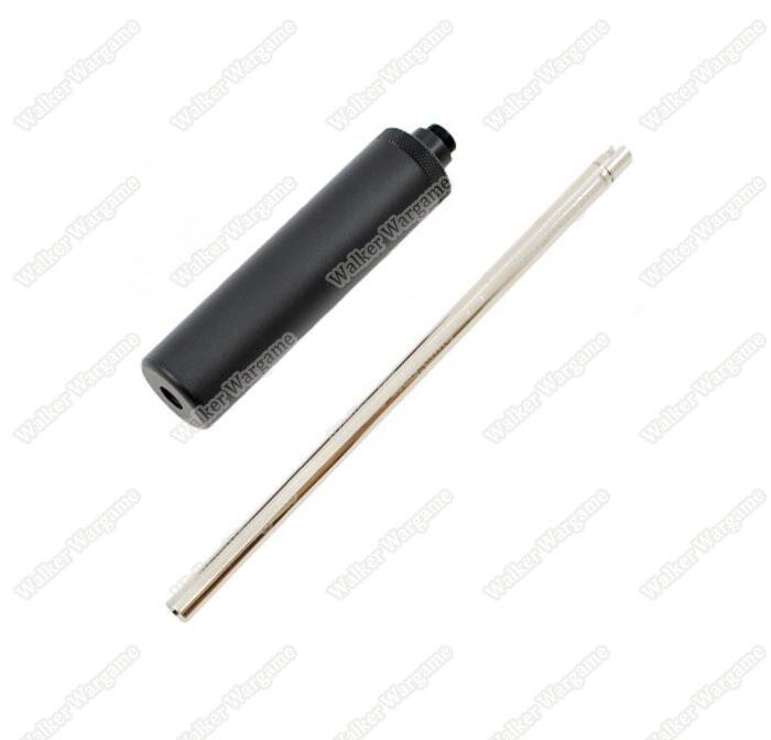 WE GBB Pistol Silencer With Long Inner Barrel Kit
