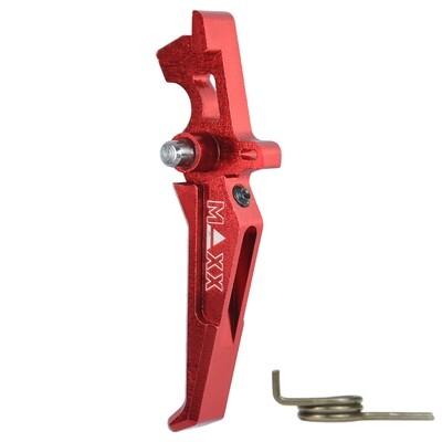 MAXX CNC Aluminum Advanced Trigger (Style E) (Red)