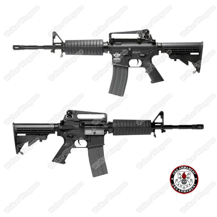 G&G M4A1 CM16 Carbine Metal Gear Box - Best Entry Level  Airsoft Rifle