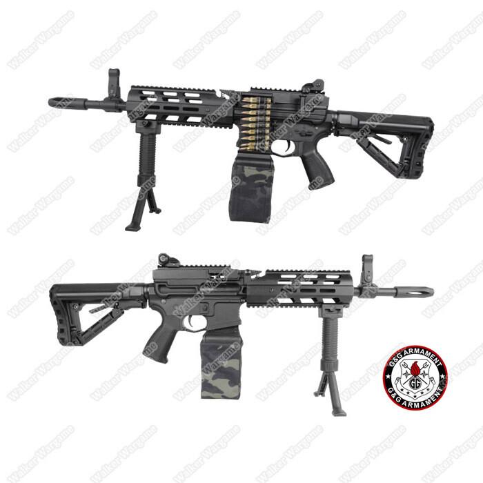 G&G CM16 LMG Light Machine Gun With Drum Mag Airsoft Electric Gun